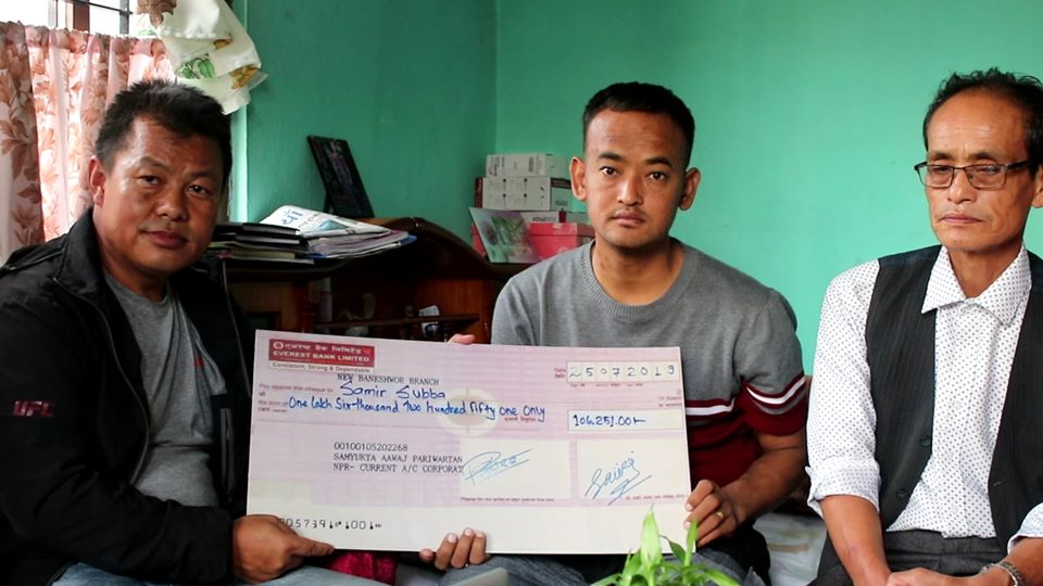 Helping Hands For Samir Subba